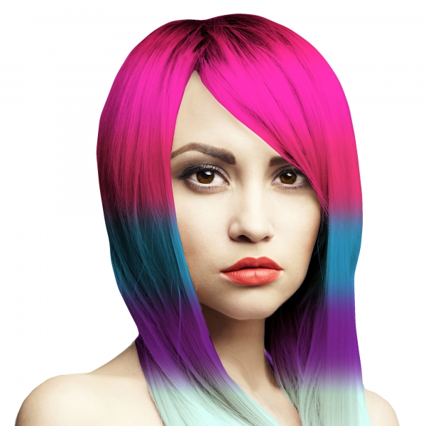 Haarfarbe Einhörner sind kein Punkrock Set