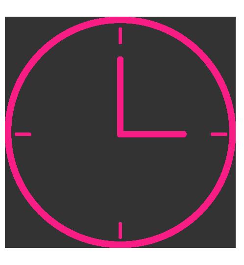 Panic-Pink-Uhr