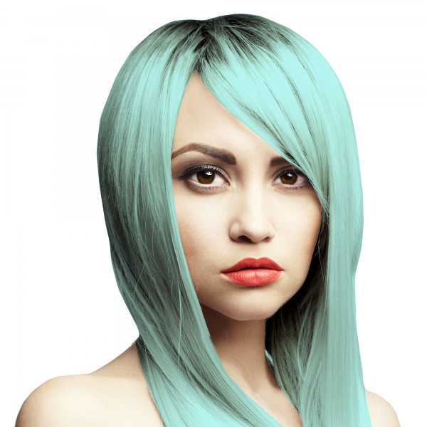Haarfarbe pastellblau – Banzai Blue