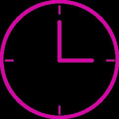 Pink-Uhr